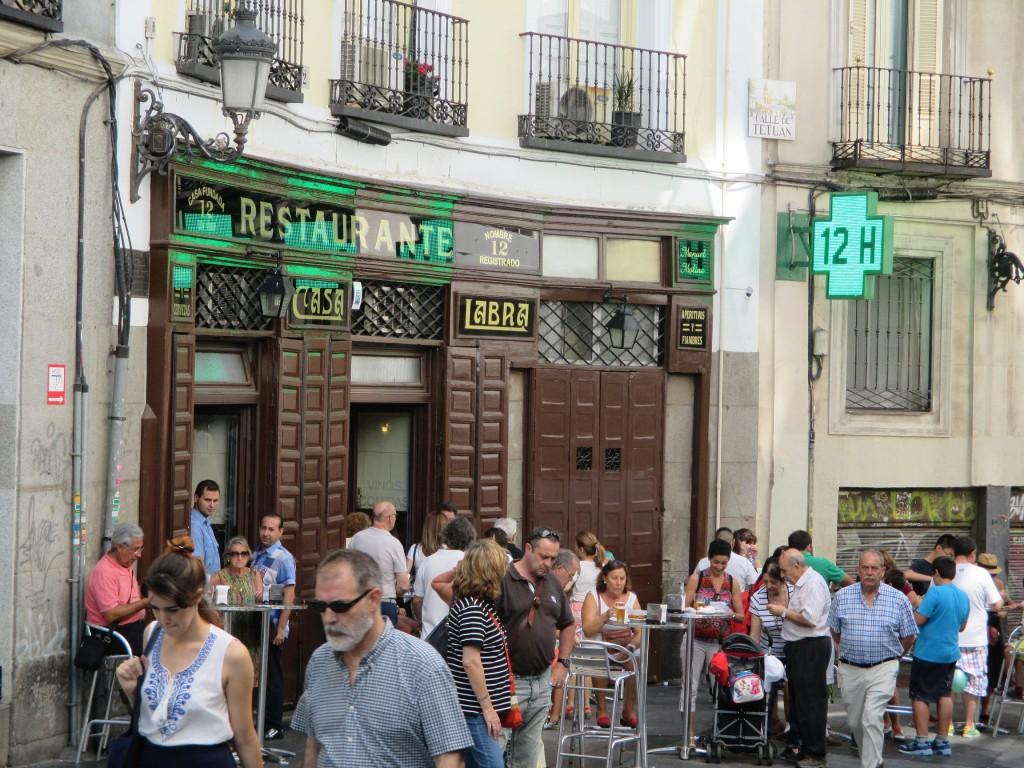 labra tabernas visitar madrid