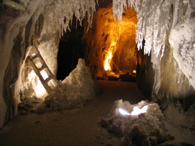 Interior de la Montaña de Sal. Turismo Barcelona