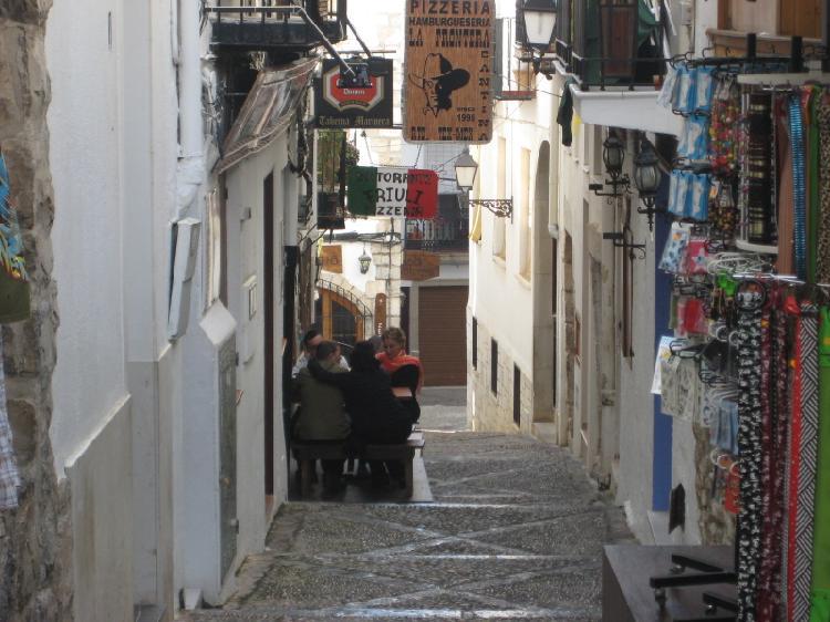 Casco antiguo de Peñíscola. Turismo Castellón