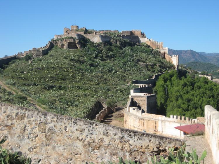 Castillo de Sagunto. Visitar Sagunto