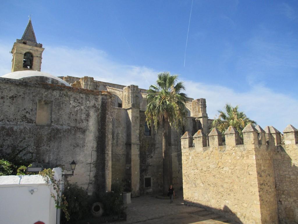 Castillo en Vjer de la Frontera. Visitar Cádiz