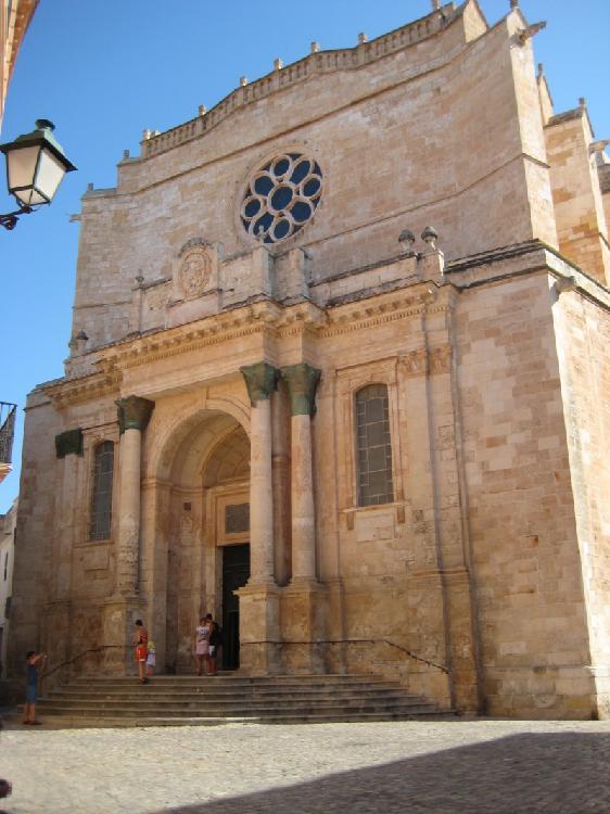 Catedral de Ciudadela. Turismo Menorca