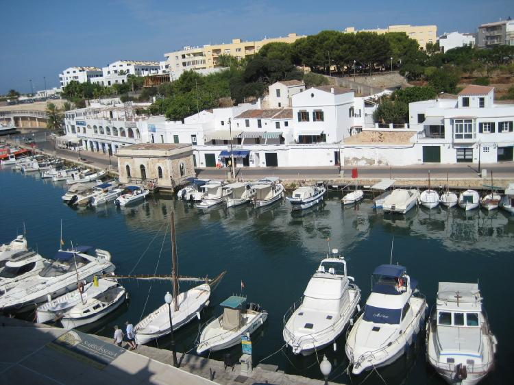Puerto de Ciudadela. Turismo Menorca