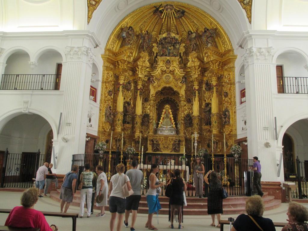 La Blanca Paloma. Visitar Huelva