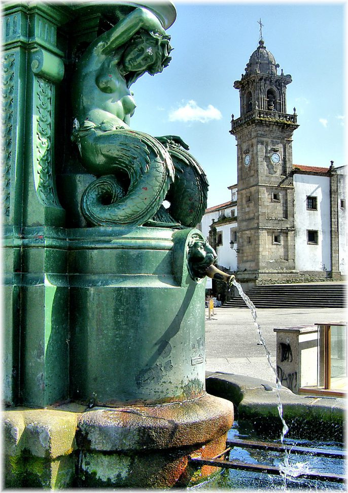 Plaza Hermanos García Naveira. Turismo Galicia