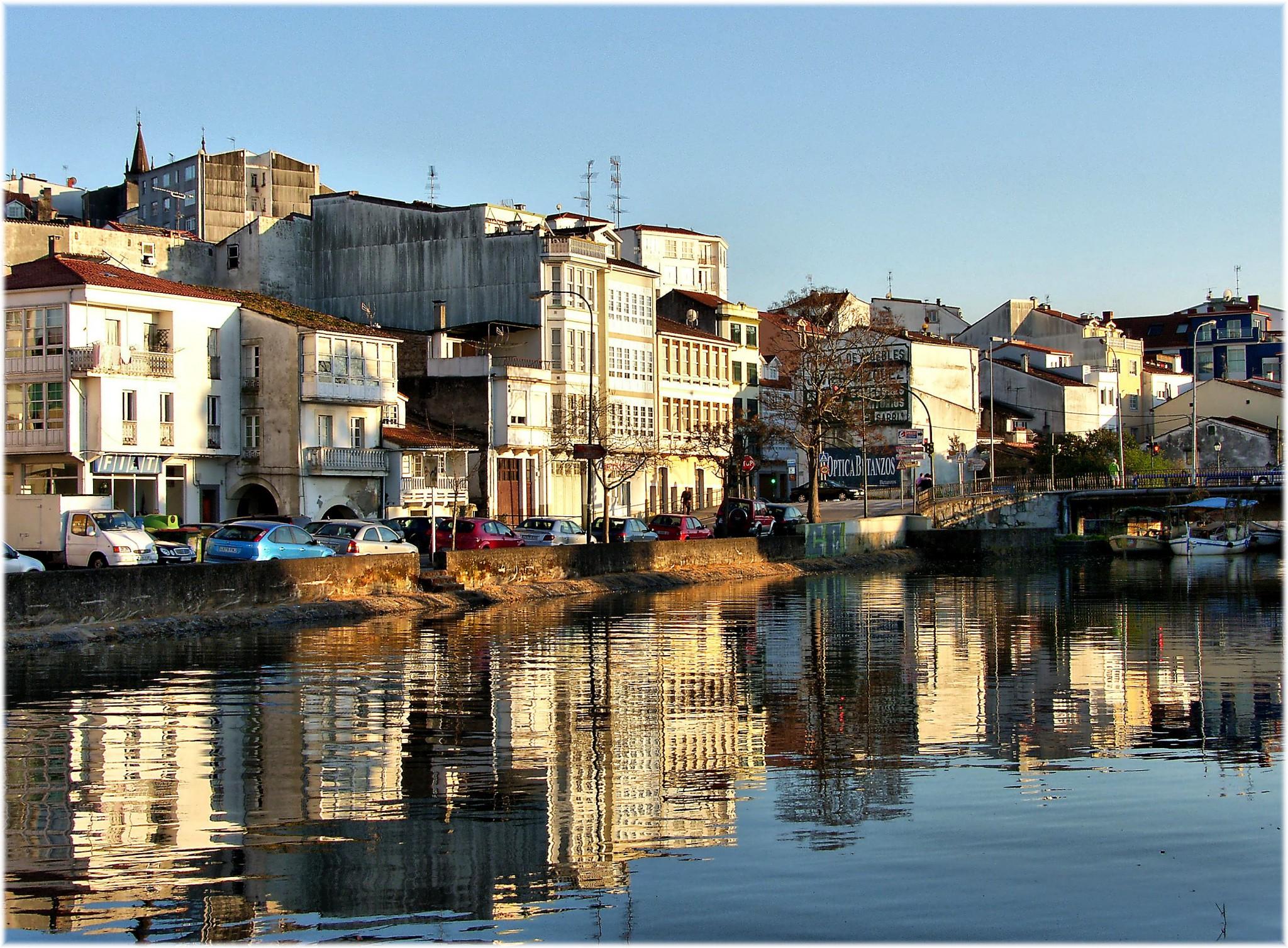 Río Mandeo. Turismo Betanzos