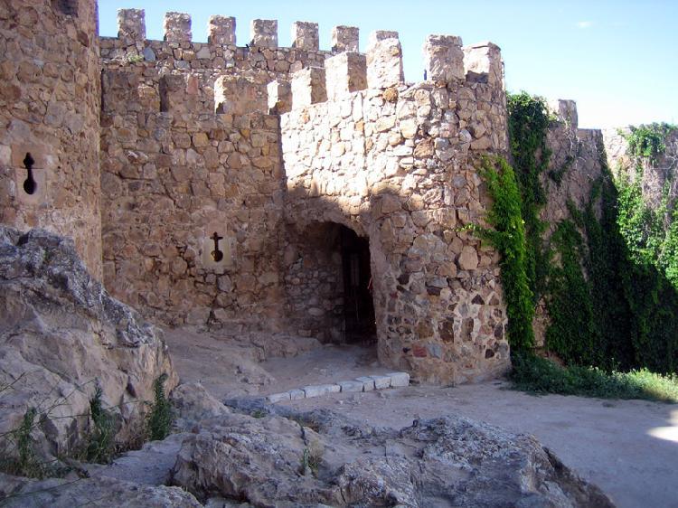 Castillo en Consuegra. Turismo Toledo