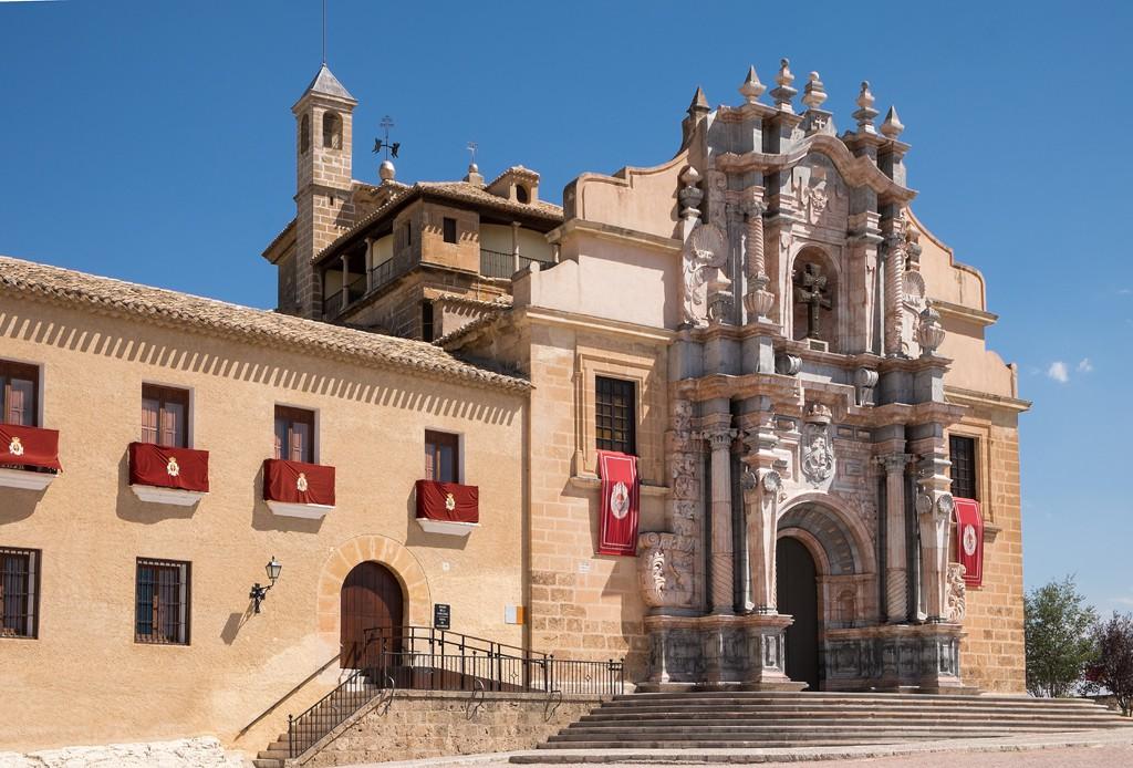 Exterior Basílica del santuario de Vera Cruz. Visitar Murcia