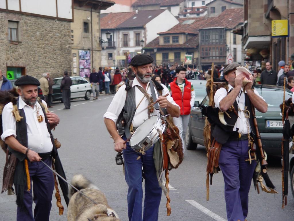 Fiesta del Orujo en Potes. Visitar Cantabria