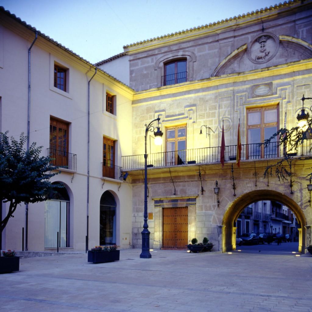 Plaza del Arco. Visitar Murcia