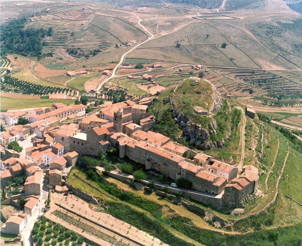 PAnorámica de Culla. Visitar Castellón