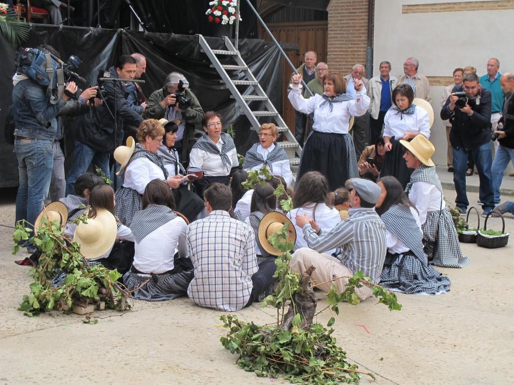 Fiesta de la Vendimia en Rueda. Turismo Valladolid