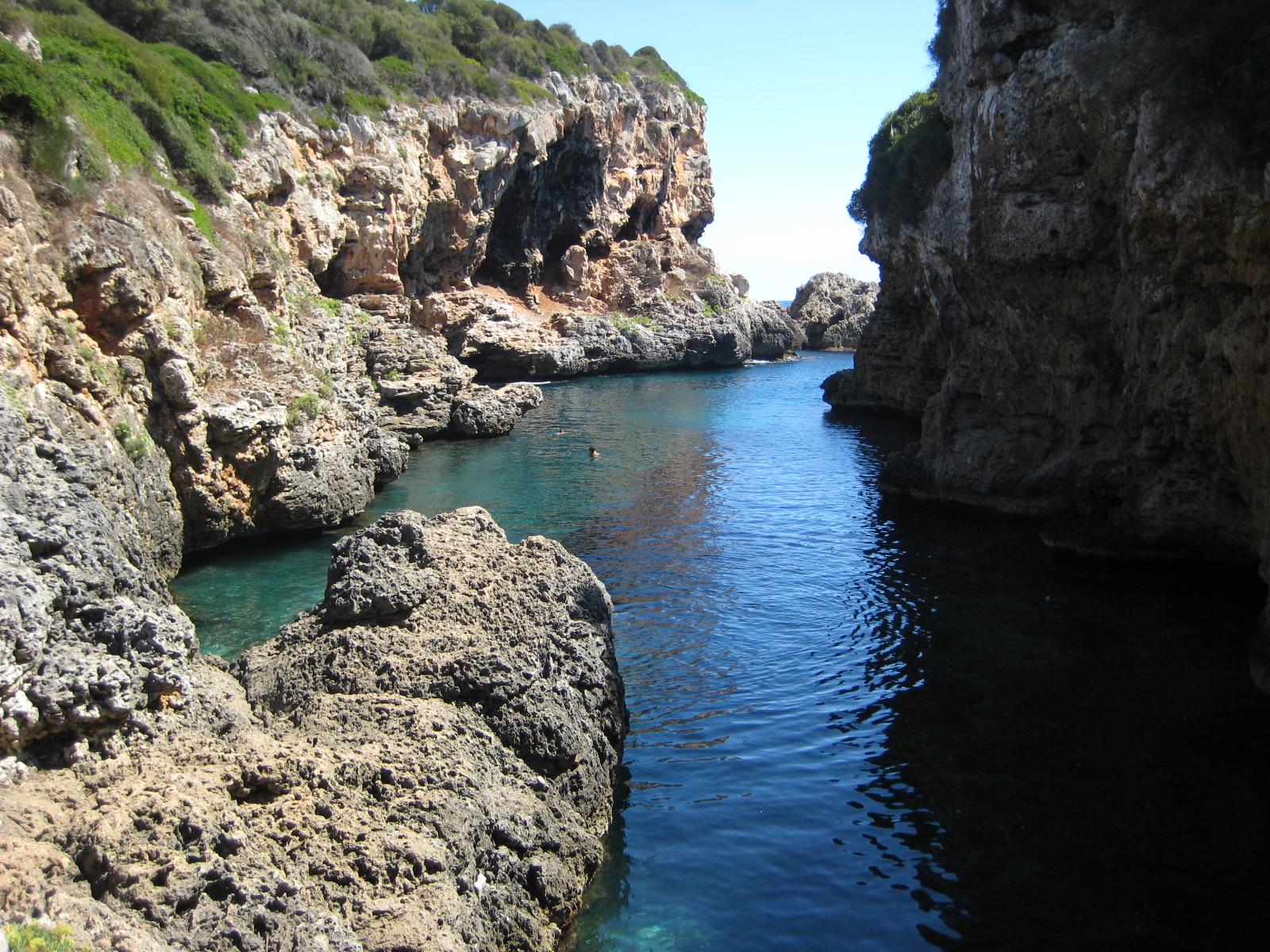 Cala Rafalet . Turismo Menorca