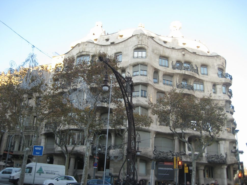 Casa Milá o la Pedrera. Turismo Barcelona