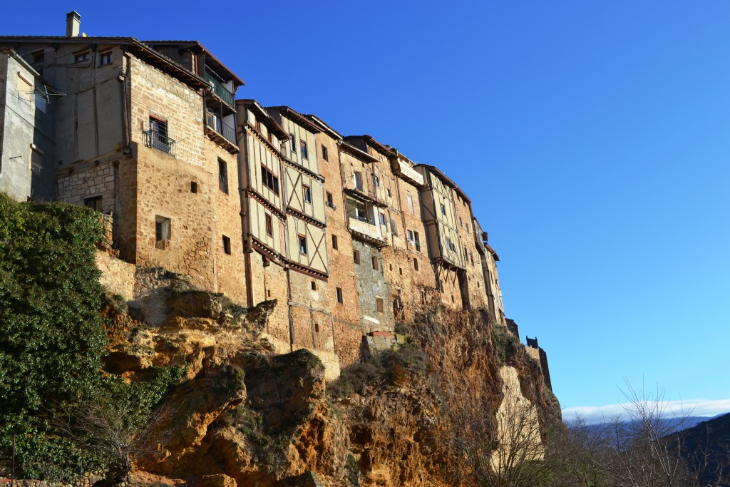 Casas colgadas. Viajar a Frías Burgos