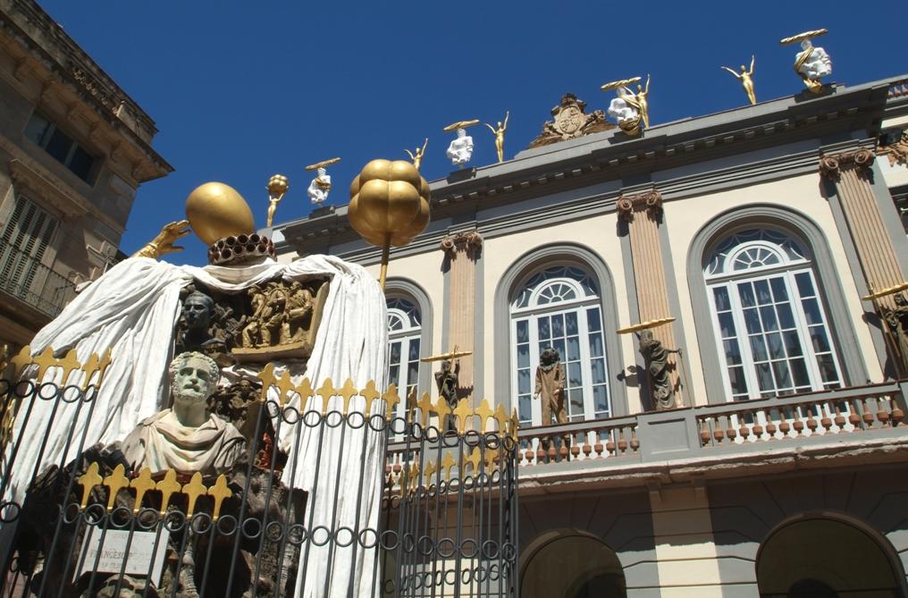 Teatro Museo de Dalí. Visitar Figueres