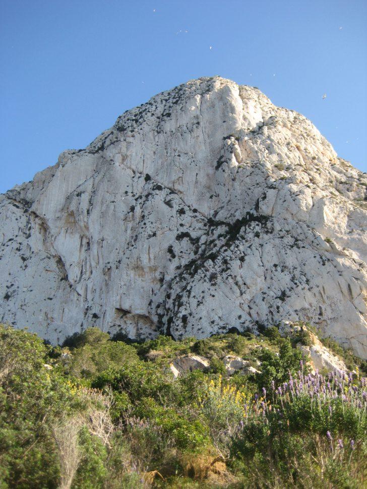 Peñón de Ifach en Calpe. Turismo Alicante