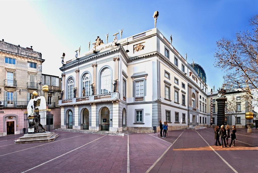 Teatro Museo Dalí. Visitar Figueres