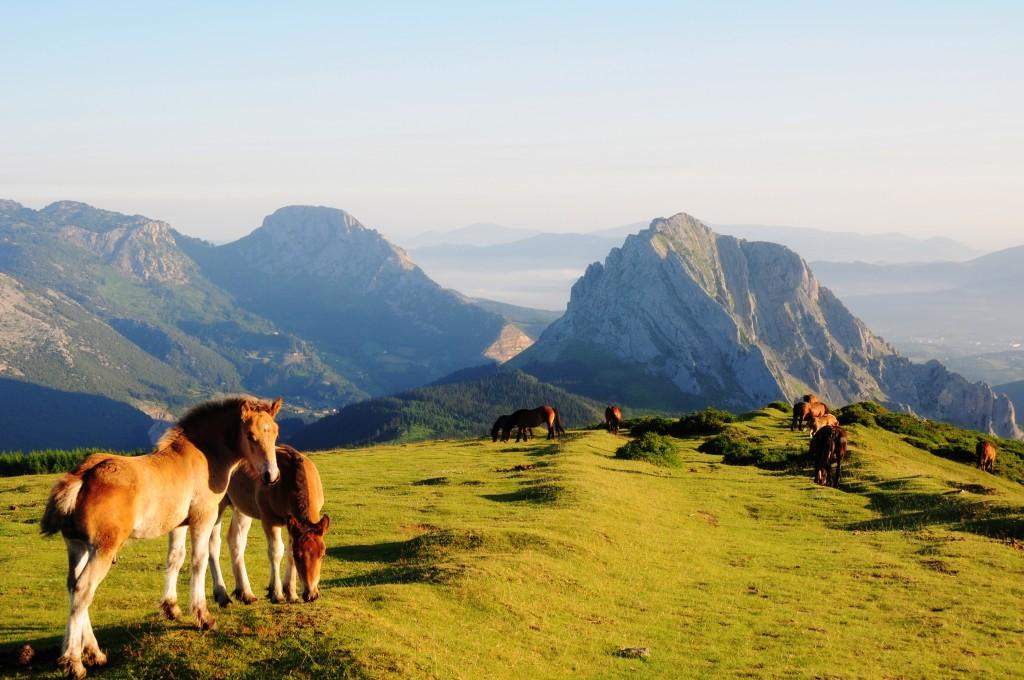 Parque Natural de Urkiola en Durango. Viajar a Durango