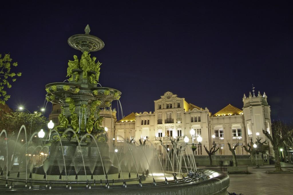 Plaza Navarra. Visitar Huesca