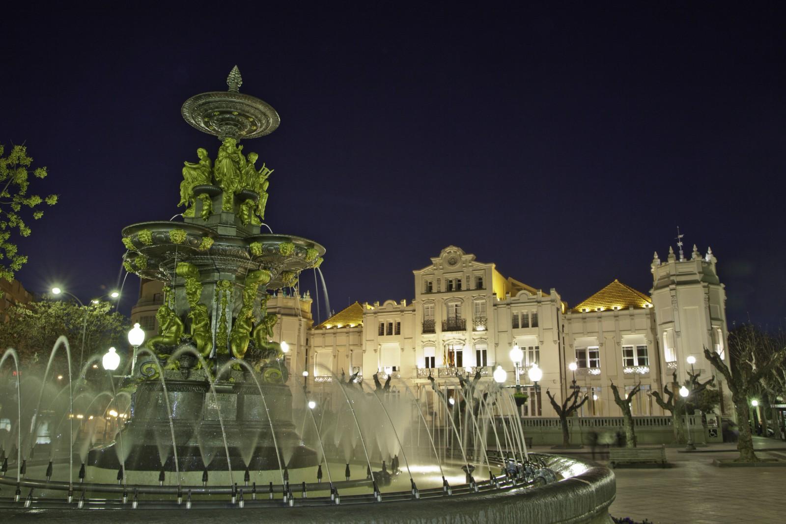 Plaza Navarra. Fotos cedidas por el Ayuntamiento de Huesca