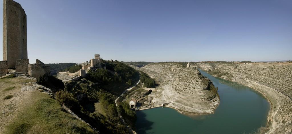 Alarcón panorámica. Fuente Archivo de la Fundación Turismo de Cuenca
