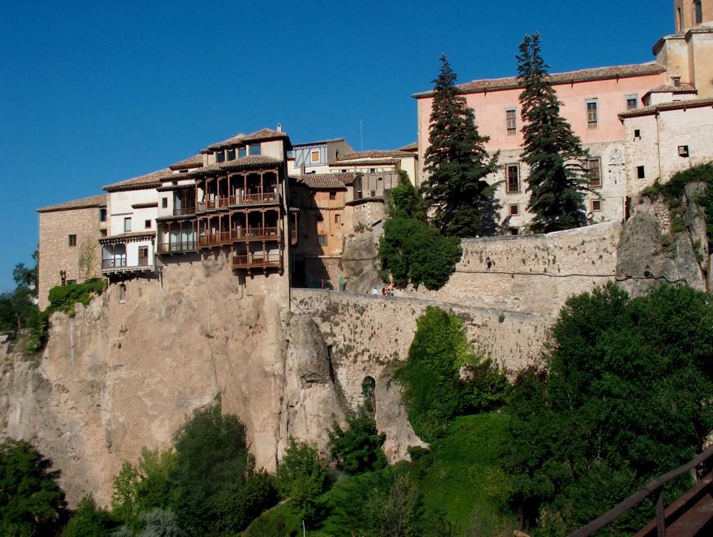 Casas Colgadas. Fuente Archivo de la Fundación Turismo de Cuenca