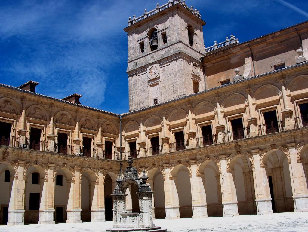 Claustro Monasterio Ucles. Fuente Archivo de la Fundación Turismo de Cuenca