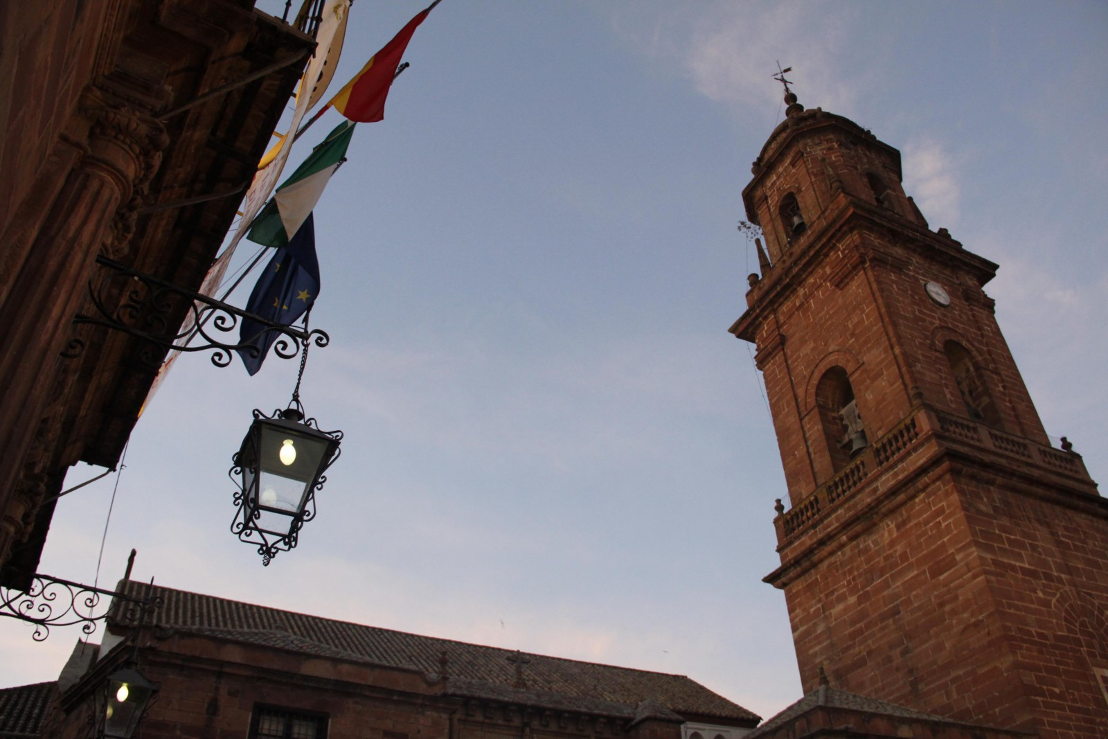 Plaza en Montoro. Foto vía Oficina de Turismo de Montoro
