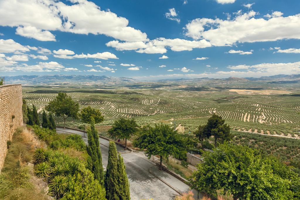 Muralla y Valle de Úbeda. Foto vía Ayuntamiento de Úbeda