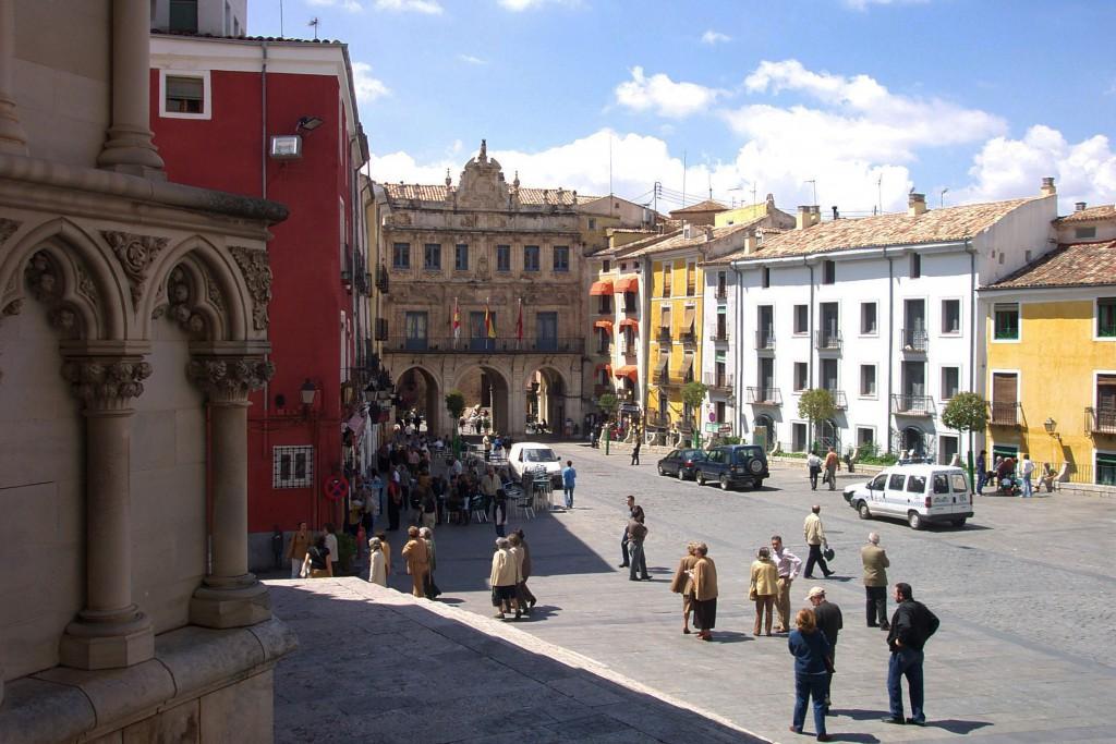 Plaza Mayor de Cuenca. Fuente Archivo de la Fundación Turismo de Cuenca