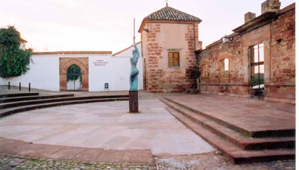 Plaza Santa María Mota. Foto vía oficina de Turismo de Montoro