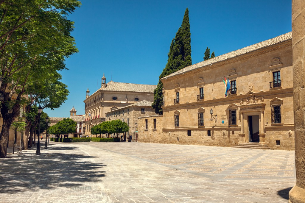 Plaza Vázquez de Molina. Foto vía Ayuntamiento de Úbeda