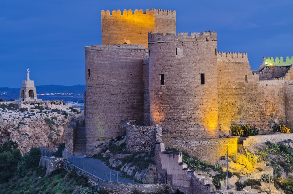Alcazaba de Almería. Foto vía Oficina de Turismo de Almería