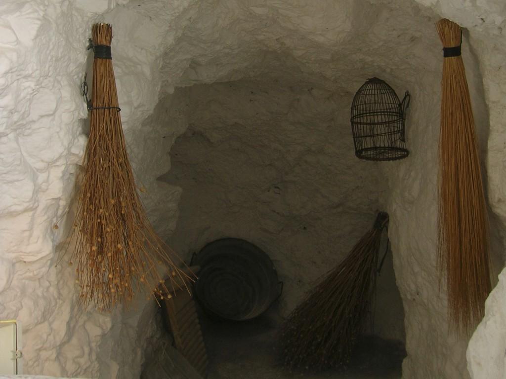 Casa Cueva. Campo de Criptana