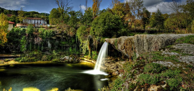 Cascada de Pedrosa de Tobalina de Burgos - Cascadas en España para bañarse