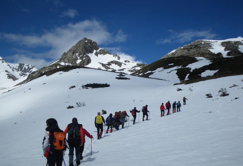 Ascenso al Pico Mencilla. Sierra de la Demanda