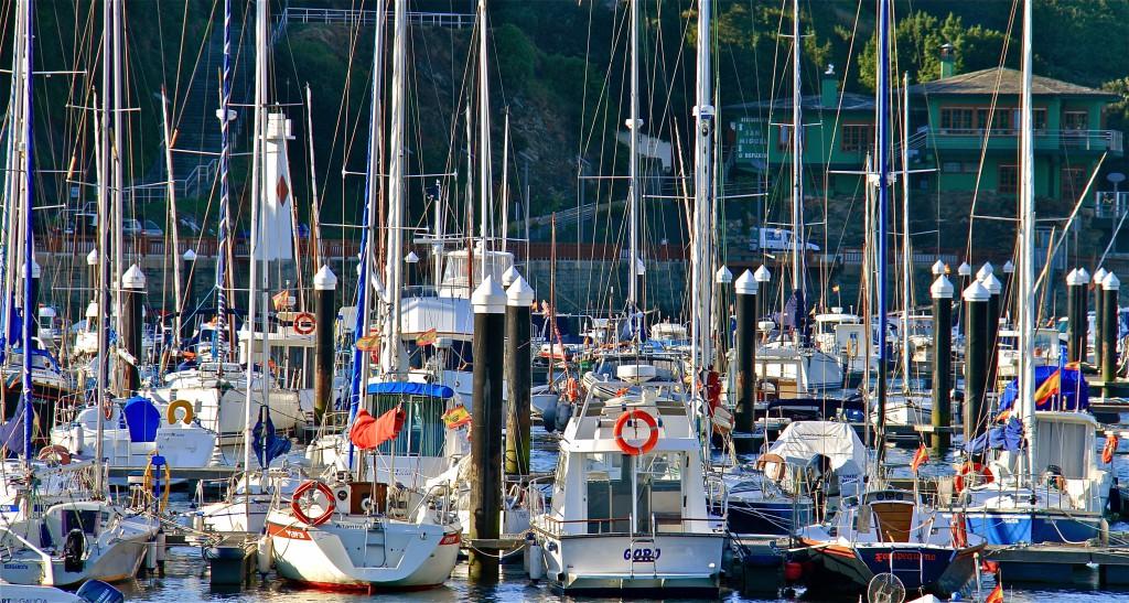 Puerto Deportivo. Fuente Oficina de Turismo de Ribadeo