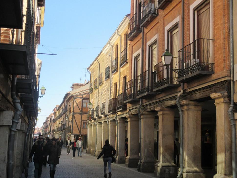 Calle Mayor en Alcalá de Henares
