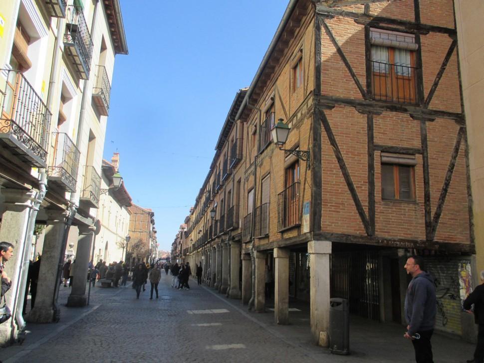 Calle Mayor. Alcalá de Henares