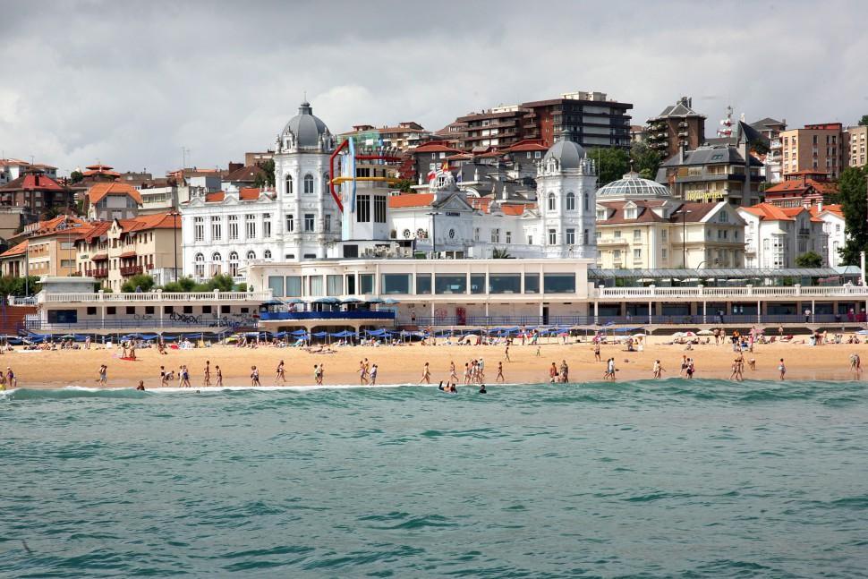Casino y playa Sardinero