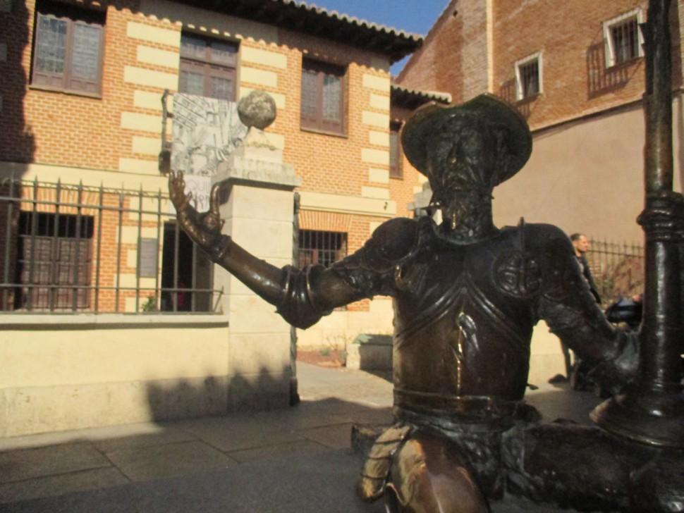 Entrada Casa Natal Cervantes. Alcalá de Henares
