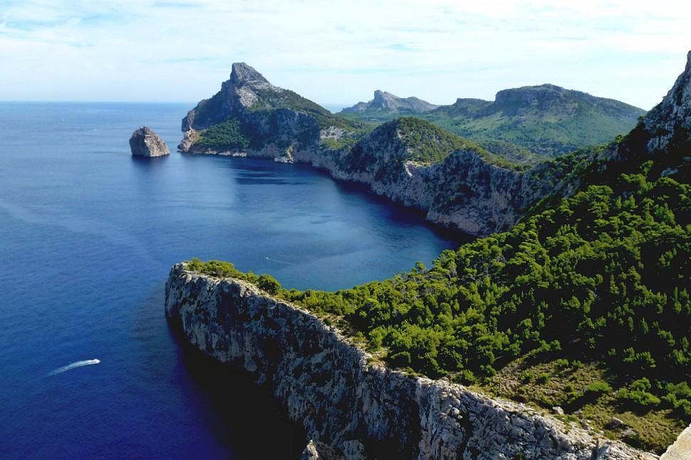 Formentor. Las playas más bonitas de Mallorca. Autor Saff