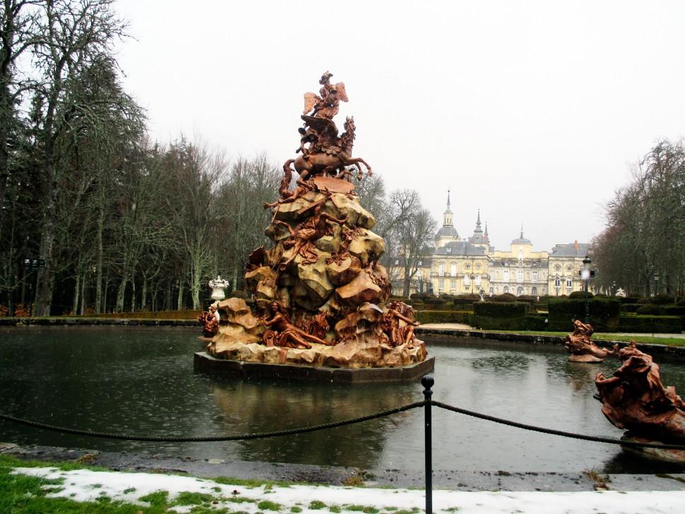 Visita a la granja de san ildefonso con su palacio y fuentes for Jardines de san ildefonso