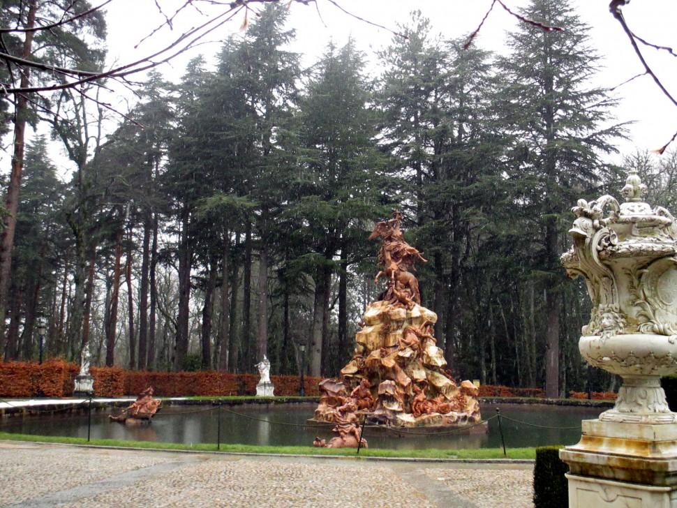 La Granja. Fuentes