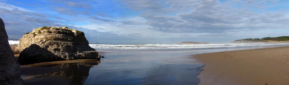 Surf en playa Somo