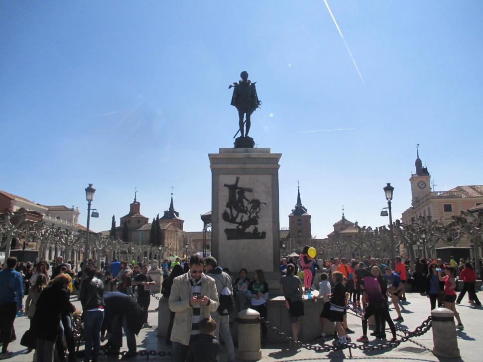 Plaza de Cervantes. Alcalá de Henares
