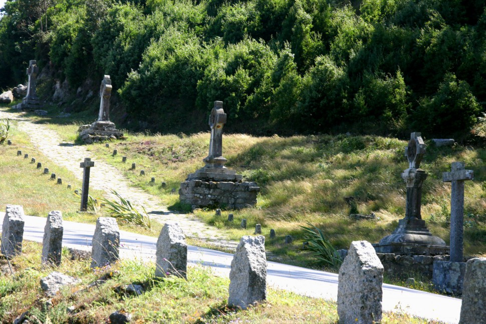 Vía Crucis en Monte de Santa Tecla. Turismo La Guardia