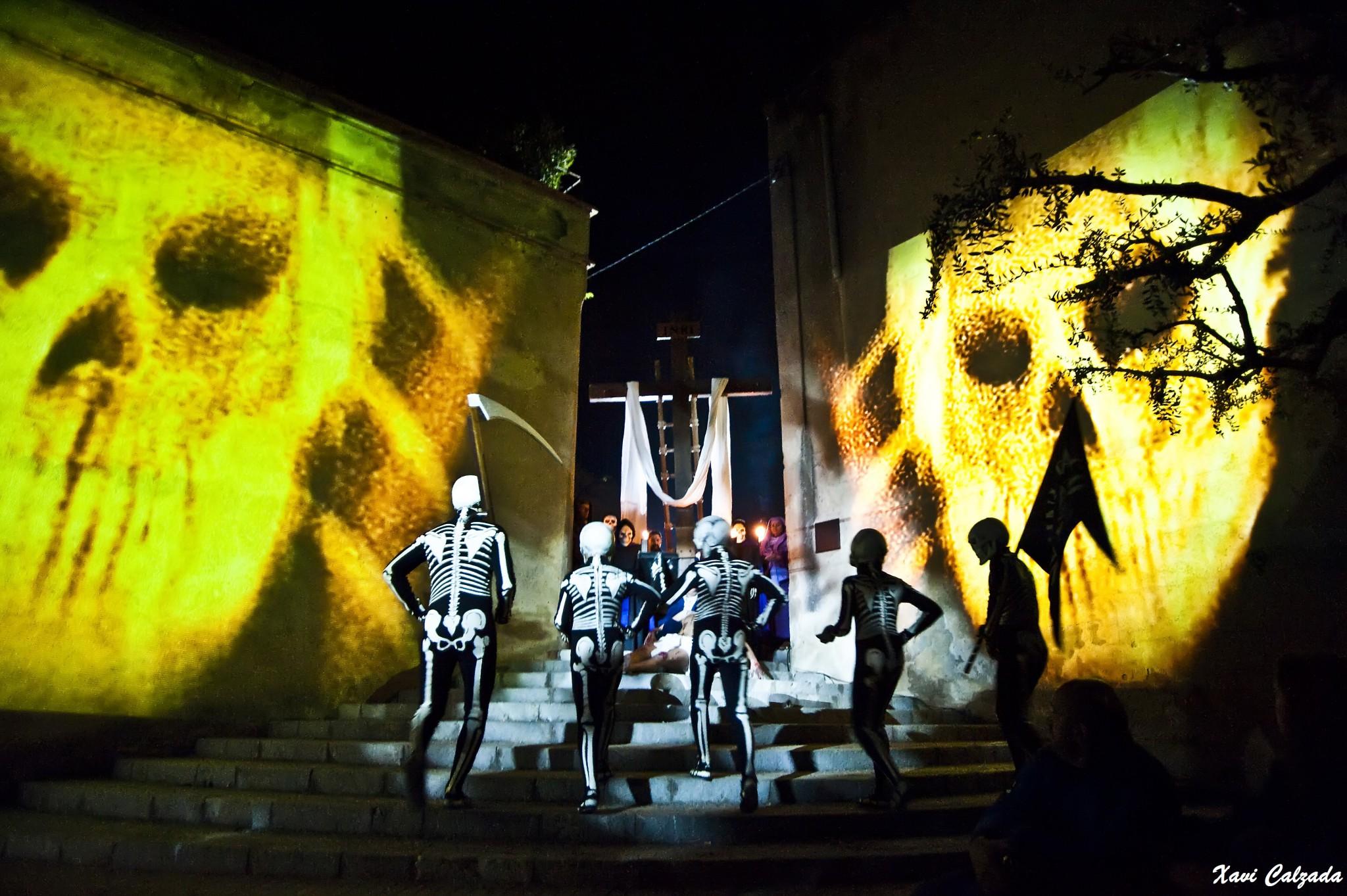 Semana Santa. Danza de la muerte en Verges