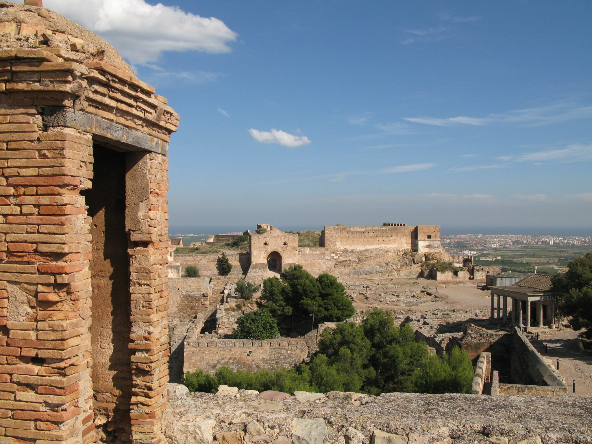 Castillo Sagunto. Fotos cedidas por el Ayuntamiento de Sagunto